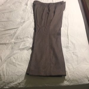 Decent Avenue brown tweed dress pants